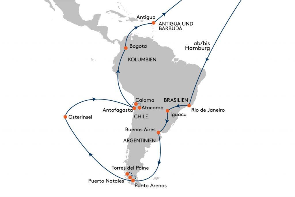 Albert Ballin - Südamerika 2021